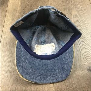 Accessories - Sam's Town Las Vegas Denim Suede Strapback Dad Hat